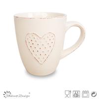 ear mug/unique heart design coffee mug