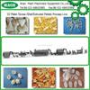 new designed Extruded Fried Crispy Bugles /papad 3D Pellet Snack Machine /production plant