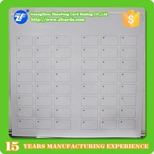 Hot sell MIFARE(R) 1kb smart card inlay sheet manufacturers
