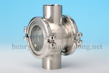 Stainless Steel Sanitary tank Sight Glass 304 316al