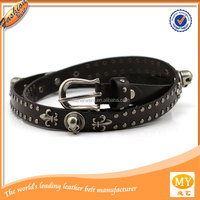 western skull studded belt leather belts brand names
