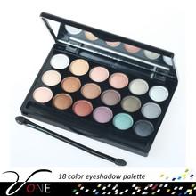 Trade Assurance Eye Shadow Compact Pure Color 18 Shades Smokey Natural