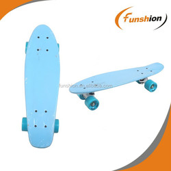 New design penny board,wood skateboard mini cruiser with colored grip tape