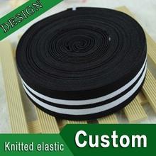 custom polyester knitted elastic band for garment waistband