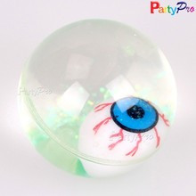new quality product China alibaba hollow plastic flashing wholesale bouncing ball with flashing light