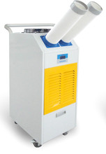 17918--23379 BTU Portable air conditioner air cooler with pushing hands movable wheels easy to move.
