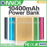 Powerbank for nokia Large capacity Aluminium alloy powerbank 10400mah