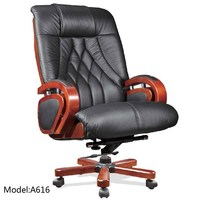 Executive Office Chair A616 /Double Function Cow Leather