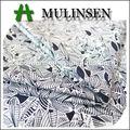 textil mulinsen peso personalizado nuevo diseño de tejido impreso satén tela de algodón pima