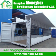 Prefab Shipping Container Workshop with Hydraulic System for sale