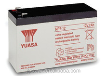 Yuasa 12V 7AH sealed lead acid battery with high quality