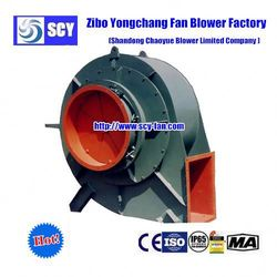 wall mounted galvanized sheet low pressure exhausting centrifugal fan