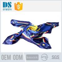 Factory Direct Custom Digital Printed Silk Scarf