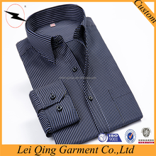 Casual business men tailor made slim shirt for men