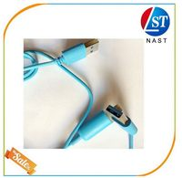 Top quality classical led light usb cable for all smart phone
