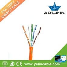 Professional high quality twisted pair utp cat5e cable 4 pair cable cat5e fluke cable