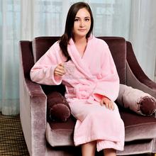 fashion design shawl collar terry velour girls sexy pink spa robes