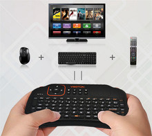 2015 new arrival S1 Mini Wireless Keyboard S1 air mouse S1 air fly mouse 2.4G with Touchpad v for PC Android TV Black