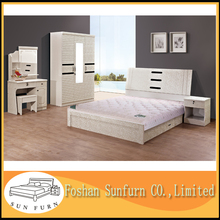 Competitive double bed design sex king bed furniture