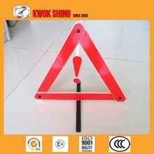 CCC CE TS16949 Certificated Reflective Triangle Traffic Sign Trailer