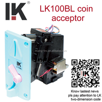 HOT product !! LK100BL programmable mechanical coin validator used in snack vending machine