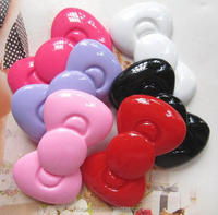 Wholesale cell phone accessory kawaii hair bow cabochons