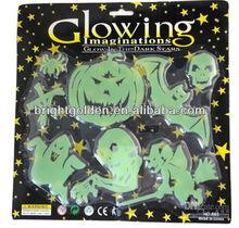 glow in the dark luminous stickers halloween
