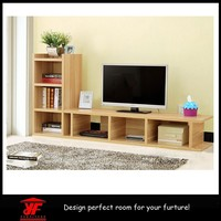 China Supply Furniture Fancy Designs Wooden Lcd TV Trolley