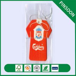 Custom logo paper car air freshener