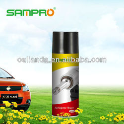 Fuel injector cleaner for car care products