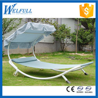 Wholesale Garden Swing Bed, Iron Swing Bed For Sale