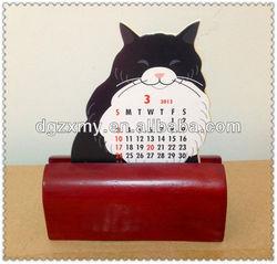 New design Wooden Base for Calendar