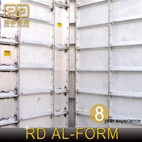 RD Reused many timesgreat material s High and Low-rise concrete Structure Aluminium Formwork System