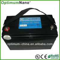 12V 100AH Deep Cycle lithium ion battery