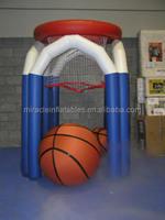 Outdoor games inflatable basketball hoop M6022