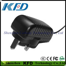 high efficiency 5V3A switching power adapter with security certification