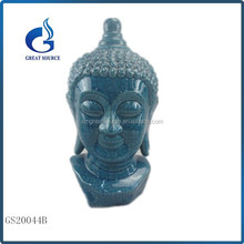 Garden sculpture for sale ceramic buddha head statue