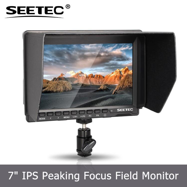 ince ve hafif 7 inç hdmi kamera ekranı histogram 1280x800 çözünürlük lcd monitör hurda