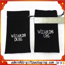 Custom Printed Velvet Bag / Large Velvet Bag /Velvet Drawstring Pouch Bag