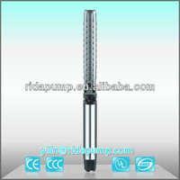 6SP 6inch solar powered stainless steel submersible electrical centrifugal water pump 3 taizhou