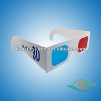 custom paper anaglyph 3d glasses popular red cyan 3d glasses for sale