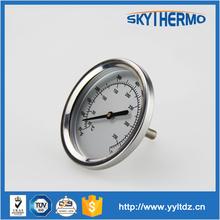 Industrial series bimetal thermometer temperature instruments
