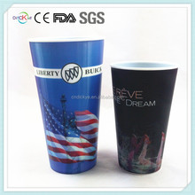 Advertising cup factory 32oz 3D lenticular plastic tumbler with fancy printing