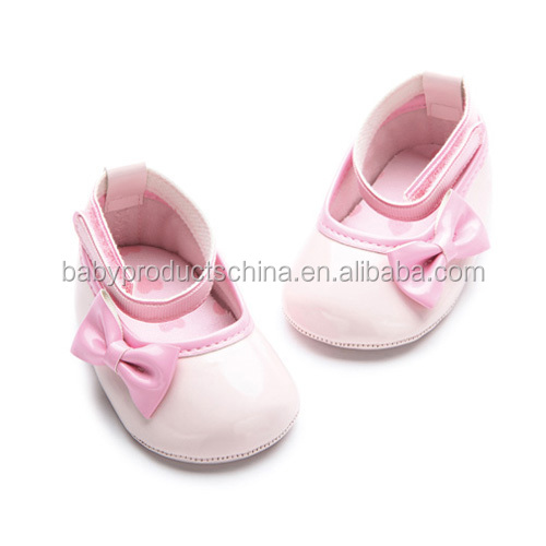 2015 Hot sale cheap baby musical shoe import China Mary Jane leather Baby Shoes