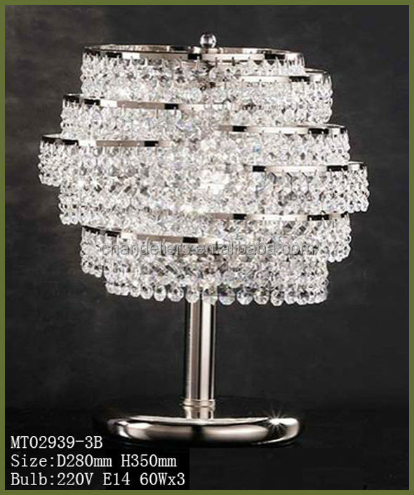 crystal chandelier table lamp buy table lamps modern chandeliers. Black Bedroom Furniture Sets. Home Design Ideas