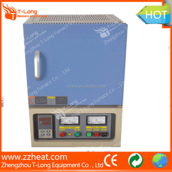 1200 deg.electric lab chamber furnace for heating