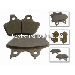 China performance disc brake lining for motorcycle