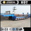 CIMC low bed trailer trailers 20 ton tri-axle low bed semi trailer truck price
