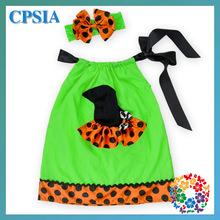 2015 Newest Baby Girl Kids Halloween Pillowcase Dress Factory Cheap Pillowcase Wholesale