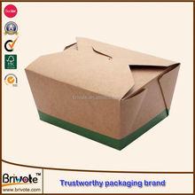 take away sushi bento paper boxes/box packaging/food paper box snack box